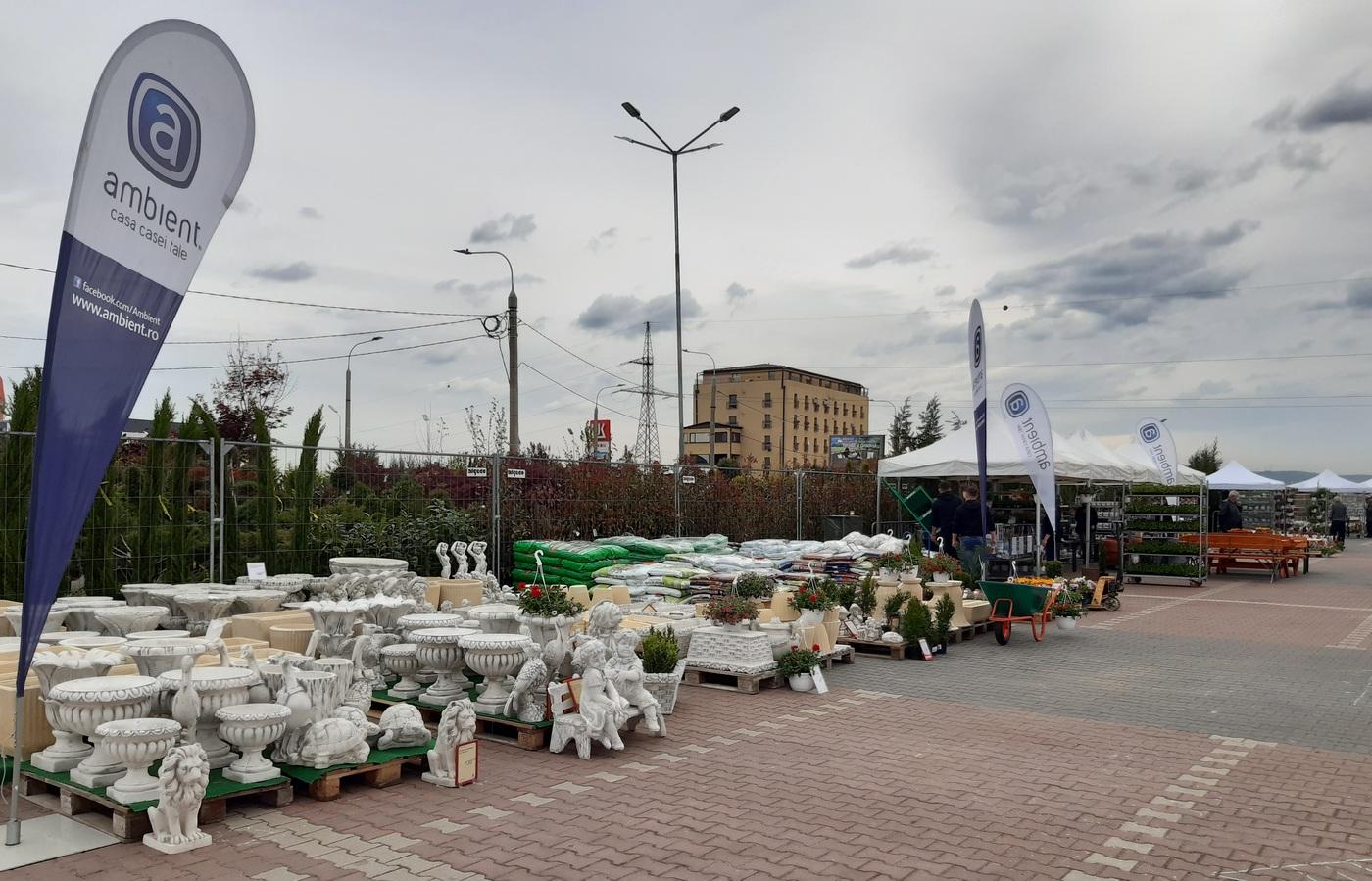 Ambient la Festivalul Gradinilor Sibiu – Editia mai 2021