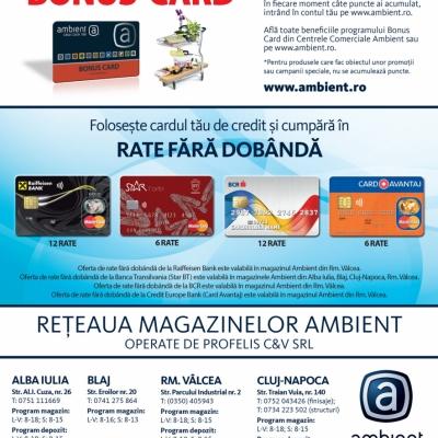 Revista Ambient 160 - Alba Iulia, Cluj, Rm. Vâlcea, Blaj