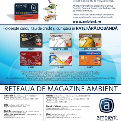 Revista Ambient 159 - Alba Iulia, Cluj, Rm. Vâlcea, Blaj