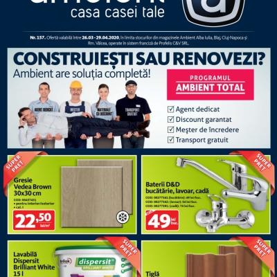 Revista Ambient 157 - Cluj-Napoca, Alba Iulia, Blaj, Rm. Vâlcea