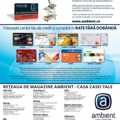 Revista Ambient 150 - Sibiu, Mediaș, Alba, Blaj, Bistrița
