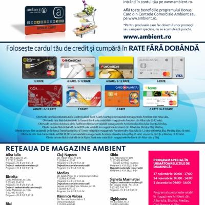 Revista Ambient 153 - Sibiu, Mediaș, Alba, Blaj, Bistrița