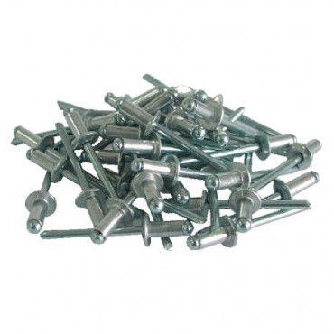 Set 50 popnituri aluminiu 3.2x10.0MM 593