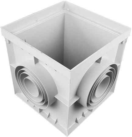 CAMIN PP BASIC 55X55CM, GRI, A15-C250 551I-G
