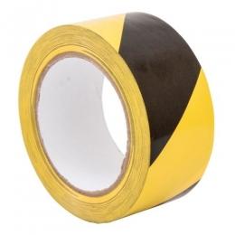Banda delimitare galben-negru 70x200m 803013
