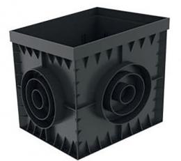 CAMIN PP BASIC 30x30 CM, NEGRU, A15-C250 8370-N