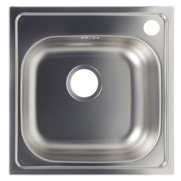 CHIUVETA INOX STANGA 50X50 CM 1612S