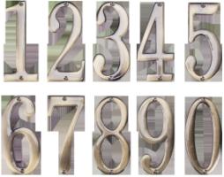 CIFRA METALICA H 100 MM, CIFRA 8, 678639