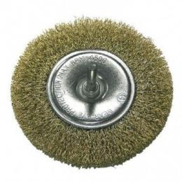 Perie sarma alama tip circular cu tija 100MM 32830