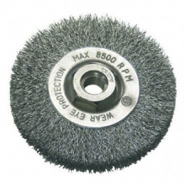 Perie sarma tip circular cu filet 115MM 32521