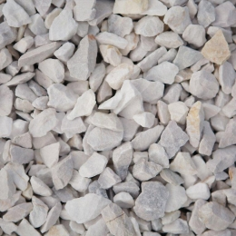 PIATRA DECORATIVA GRANULATA, ALBA, 25 KG, 10-16 MM