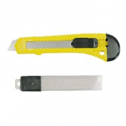 Set cutter plastic cu buton blocare 18MM 30019